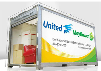 Choose All Points Portable Storage Containers By Mayflower For All Your  Portable Storage Needs.
